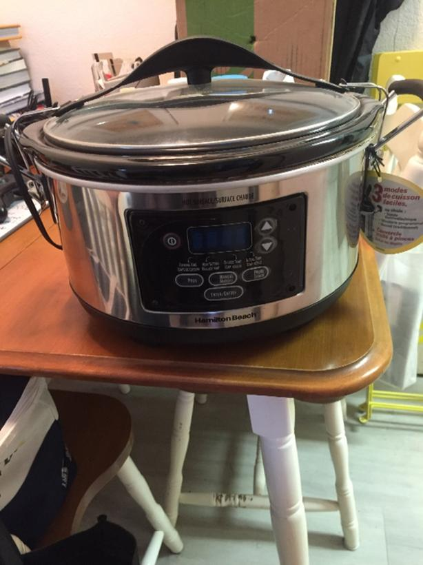 hamilton beach programable slow cooker
