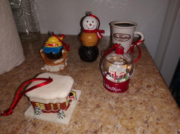 Tim Horton's Collectible Ornaments