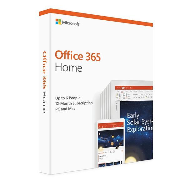 Microsoft Office 365 Home (PC/Mac) - 6 User - 1 Year (Brand New)