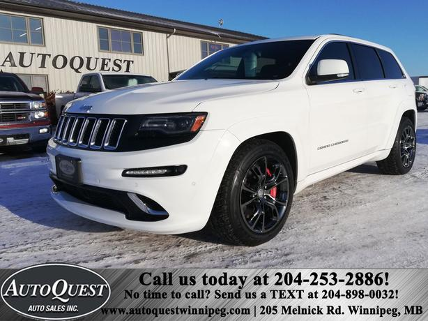 2014 Jeep Grand Cherokee SRT8 4WD 6.4L - FULLY LOADED! AMAZING OPTIONS!