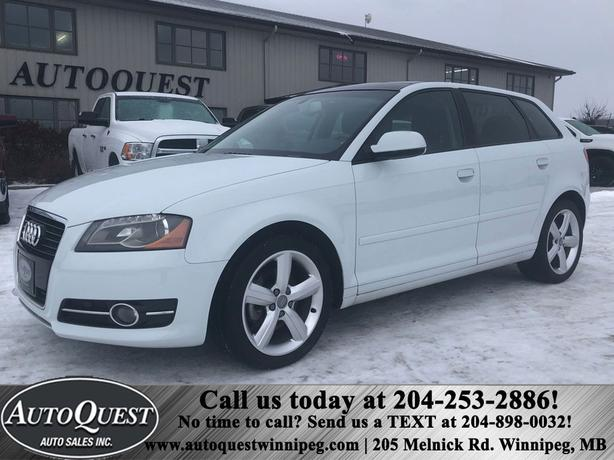 2013 Audi A3 Diesel, Heated Leather Seats, Low Kms!