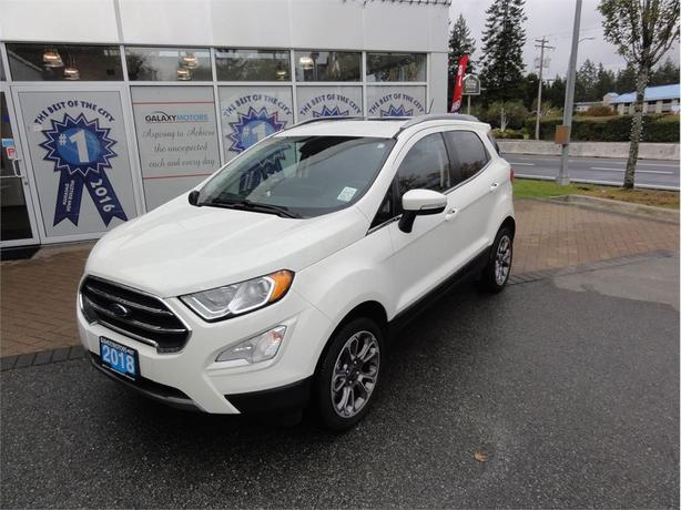 2018 Ford ECOSPORT TITANIUM- Auto Start Stop, Navigation, AWD
