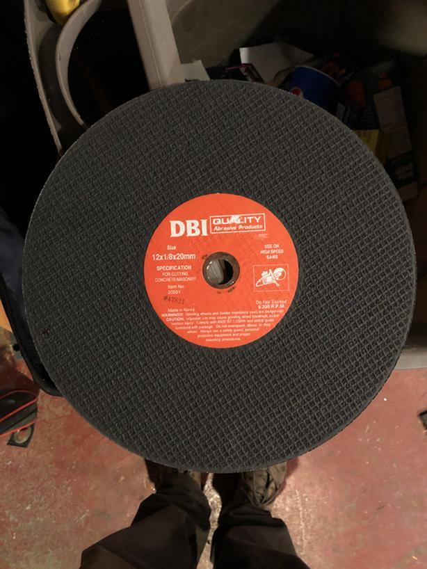 "12"" Abrasive Disc"
