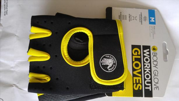 BODY GLOVE NEW WORKOUT GLOVES