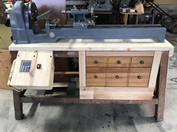 Walker Turner Gap Bed Wood Lathe (on hold)
