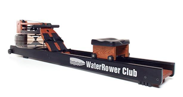 Water rowing machine.