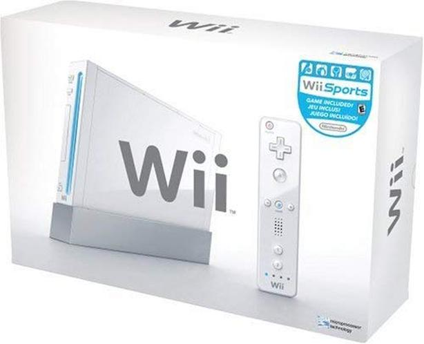 Wii Console with Sports & Fit Plus