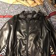 Armani men's soft leather dress jacket