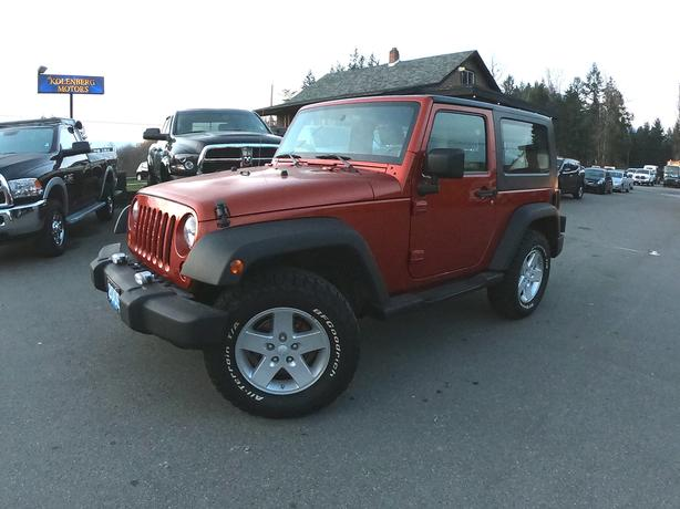 2009 JEEP WRANGLER 2DR (AUTOMATIC)