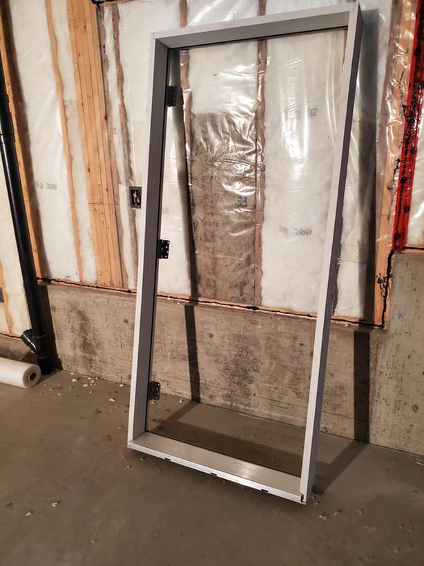 Outside door frame