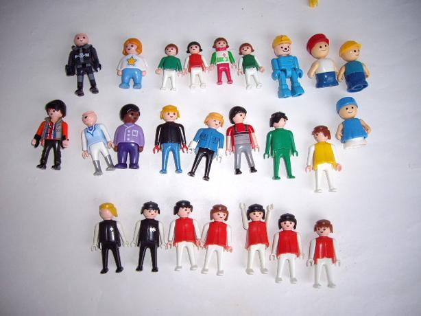 PLAYMOBILE PEOPLE AND OTHERS $1 EACH