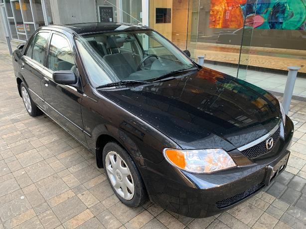2002 Mazda Protege 2.0 5-speed with 188k