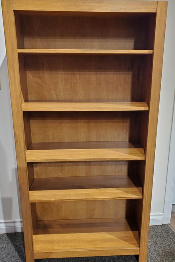 Square Cut Solid Pine Bookcases $315 and UP