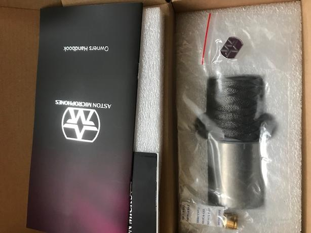 Aston Origin Microphone - Used only 1 session