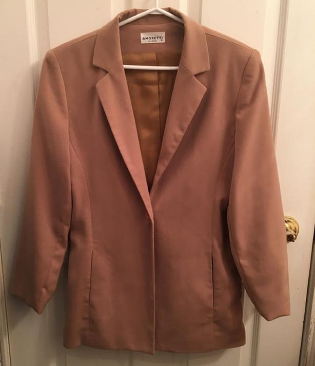Women's Dark Beige Blazer