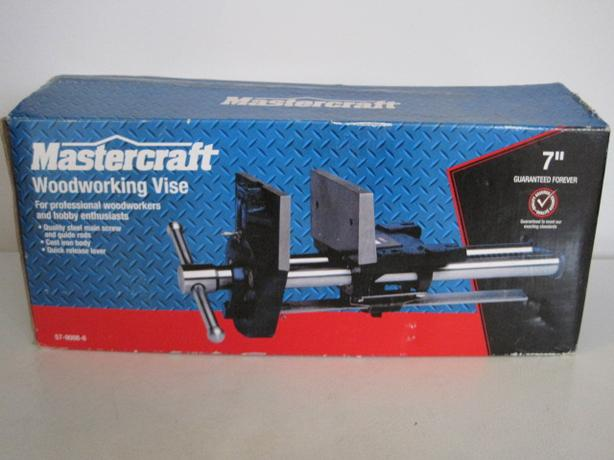 Mastercraft Woodworker's Vice (new in box) (Please phone or email )
