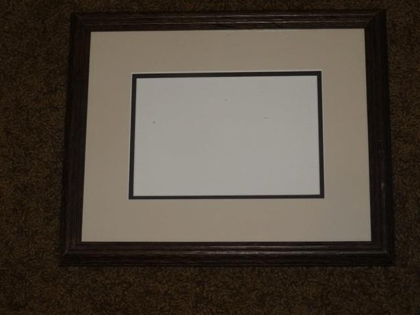 Wooden Picture Frame with Glass