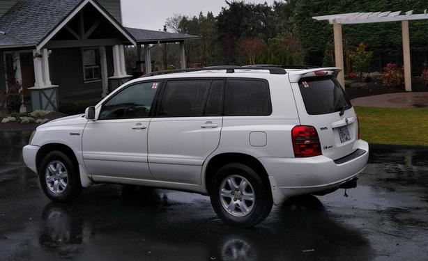 2001 Toyota Highlander Limited Edition
