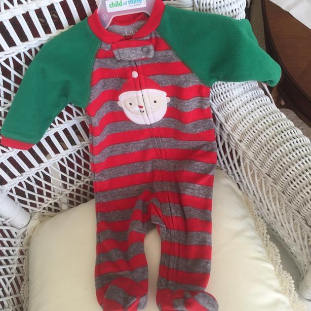 New newborn christmas sleeper