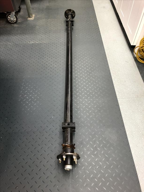 New Trailer Axle