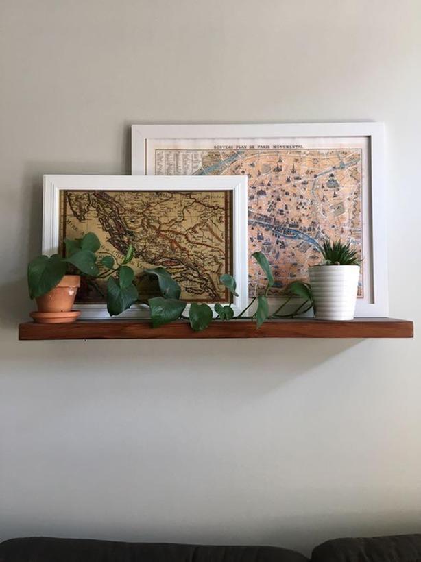 Custom Floating Shelf