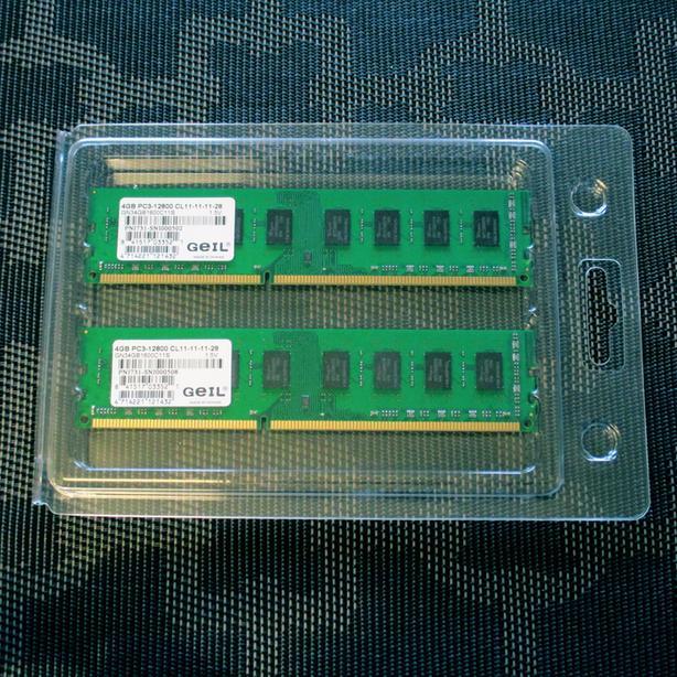 DDR3-1600 DIMM Geil 1 GB PC3-12800