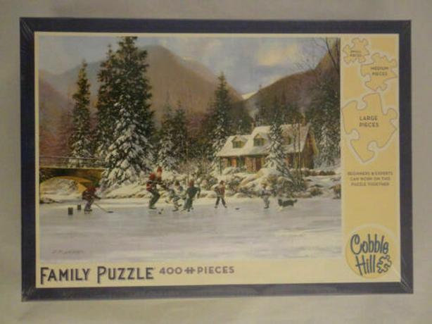 puzzle  hockey ,
