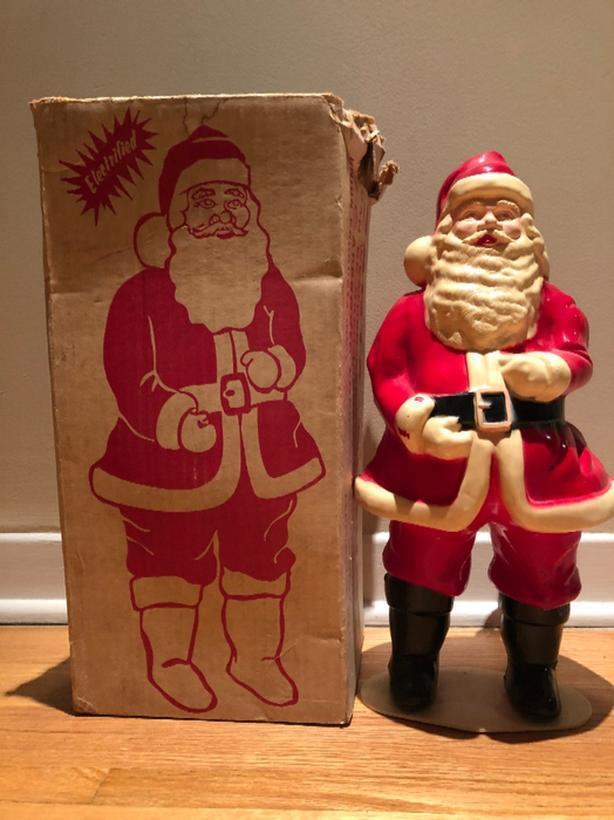 1950/60s Light Up Santa