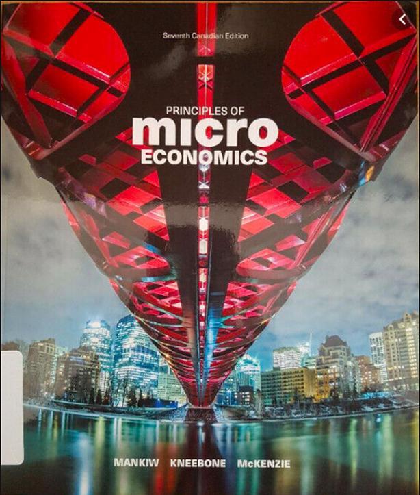 ECON 103 - Mankiw, Microeconomics