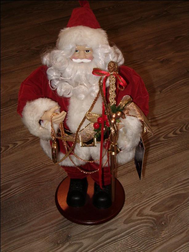 Santa with a pocket watch