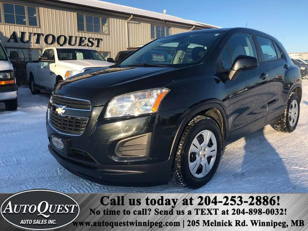 2013 Chevrolet Trax LS FWD, One owner and Low kms