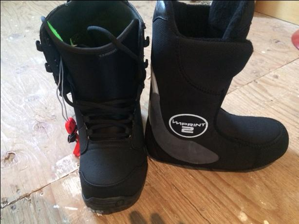 Youth Snowboarding Gear Set Up