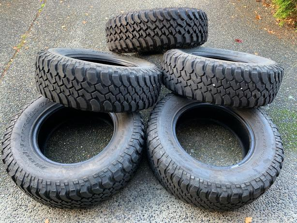 BFG Mud-Terrain T/A Tires (X5 Jeep Wrangler Tires) *GREAT PRICE*