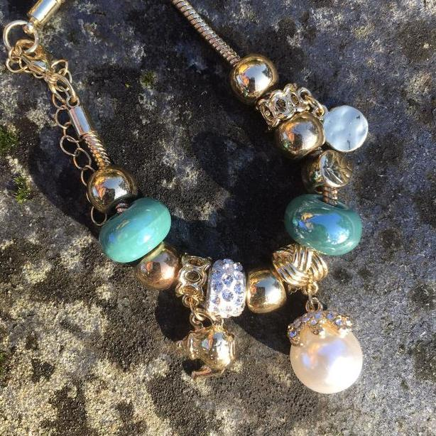 Silk Dragon Tea Time bracelet