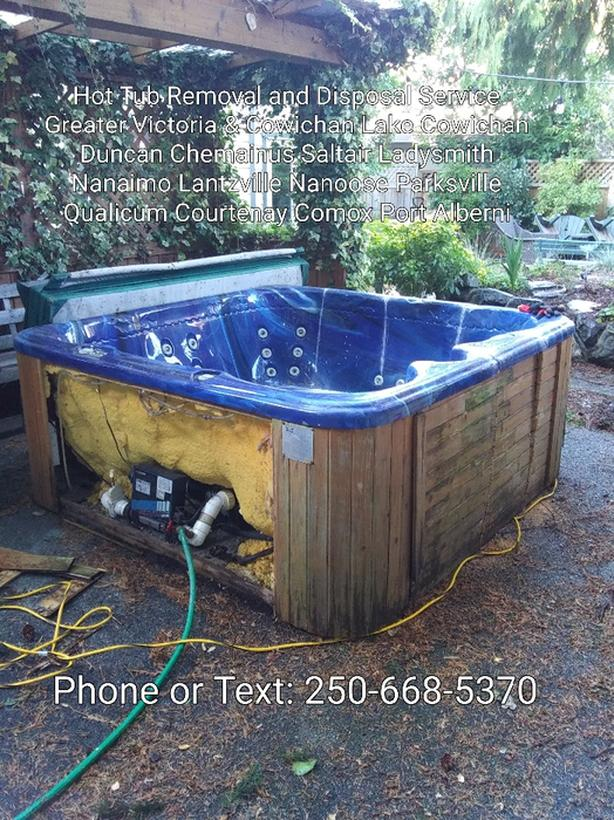 Port Alberni Hot Tub Removal & Disposal Service