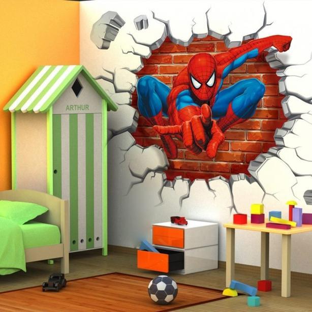 Spiderman wall sticker