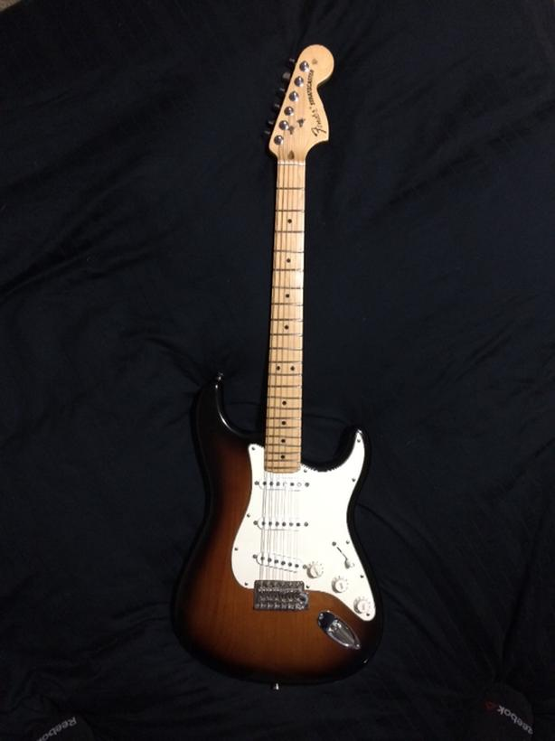 2016 American Stratocaster with Texas Specials