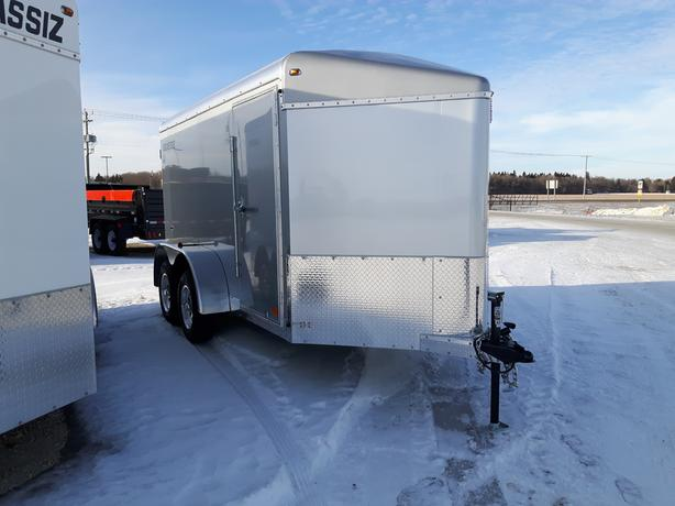 2020 Agassiz 6X12 Cargo Trailer Barn Doors HH4528