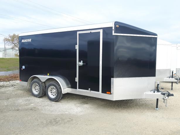 2020 Agassiz 7X14 Cargo Trailer Ramp Door HH4517