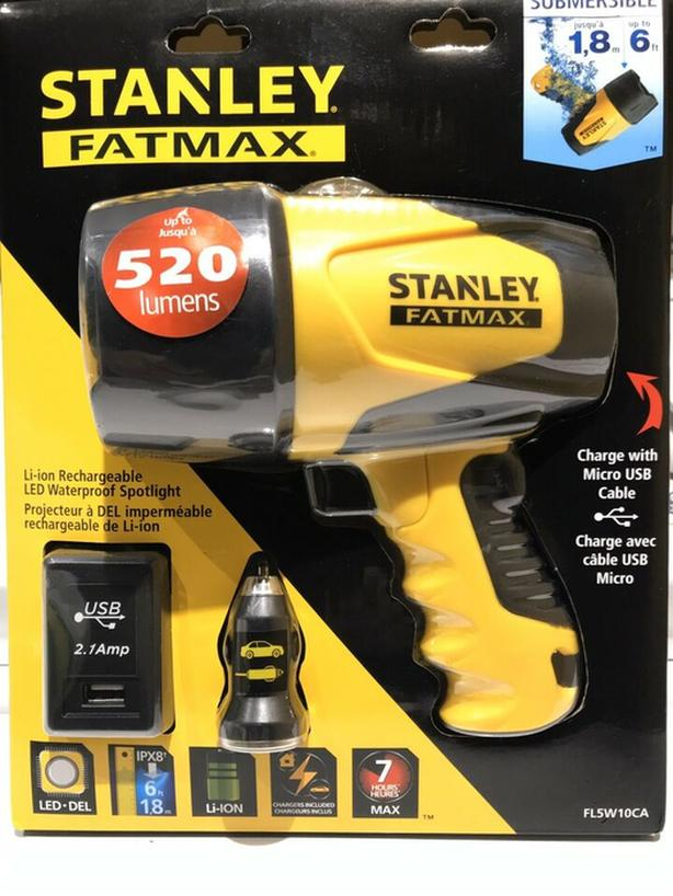 Stanley FatMax Rechargeable Light