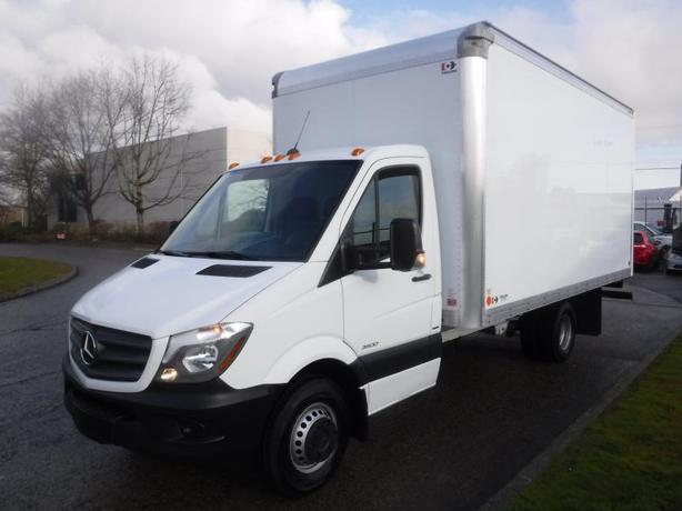 2016 Mercedes-Benz Sprinter 3500 170-in. WB 16 foot Cube Van Diesel