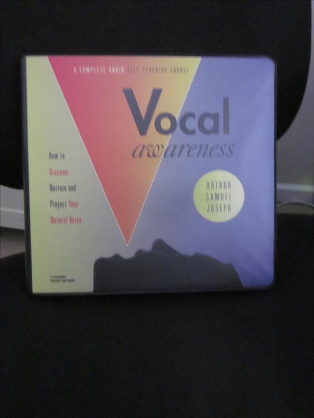 Vocal Awareness Arthur Samuel Joseph 5 cassettes