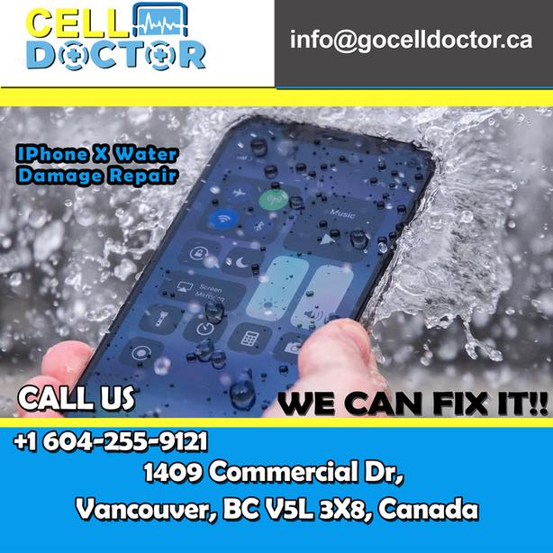 iPhone Water Damage Repair with best Quality services and Original Parts