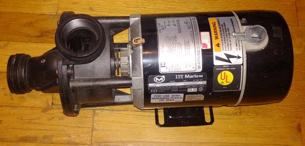 Marlow SD7 Spa or Pool Pump.  As new, probably never used.
