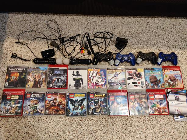 PS3 Games and Accessories for Sale