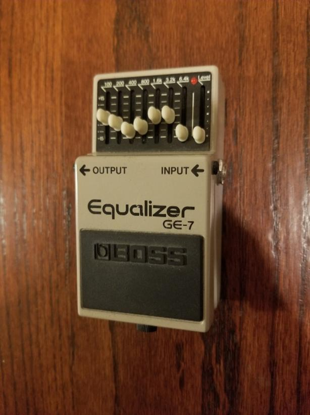BOSS GE-7 Equalizer Effects Pedal