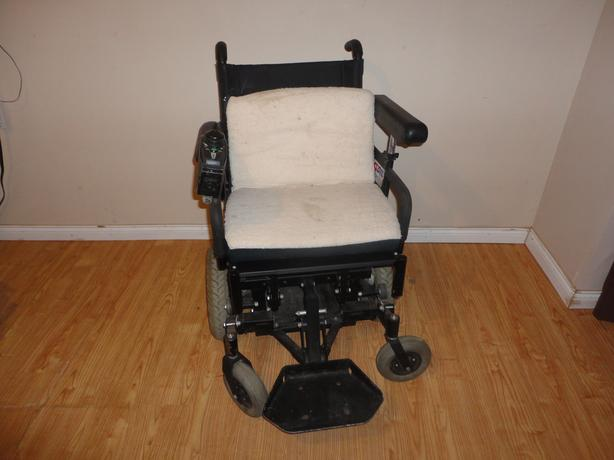 Obo. Quickie electric wheelchair