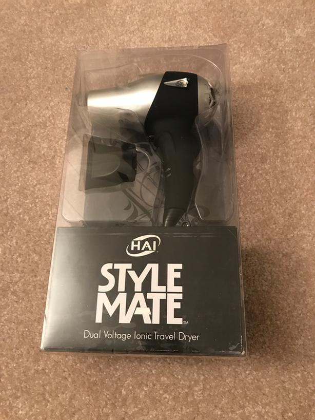 Hai Style Mate - Dual Voltage Ionic Travel Dryer