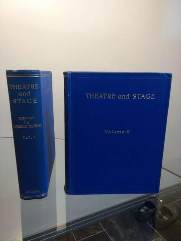 1934 Theatre and Stage Books