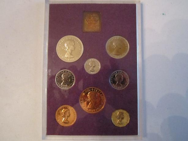 1970 Coinage of Great Britain & Northern Ireland Proof Set